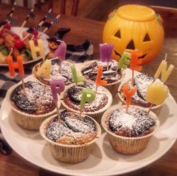 ハロウィンのおしゃれで楽しいテーブルコーディネート6