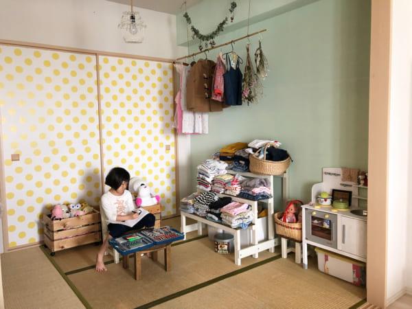 おしゃれな子供部屋 和室3