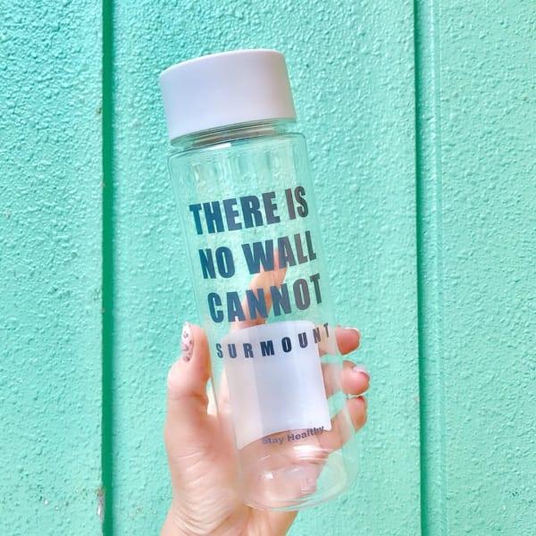 水分補給におすすめクリアボトル