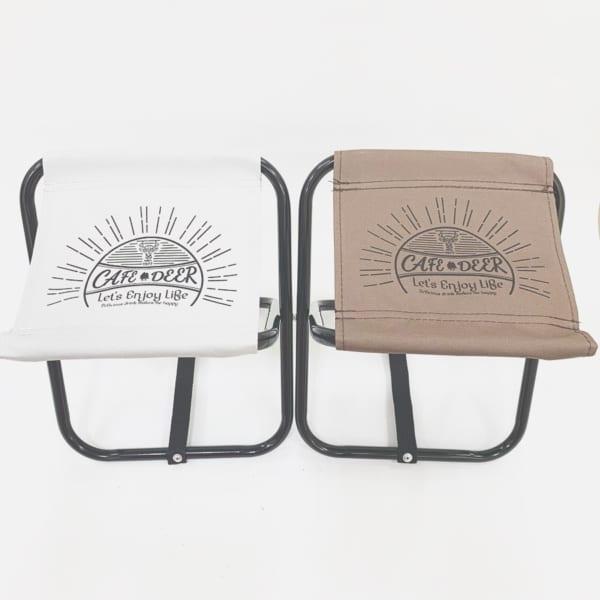 アウトドアに便利なダイソーの折りたたみ椅子