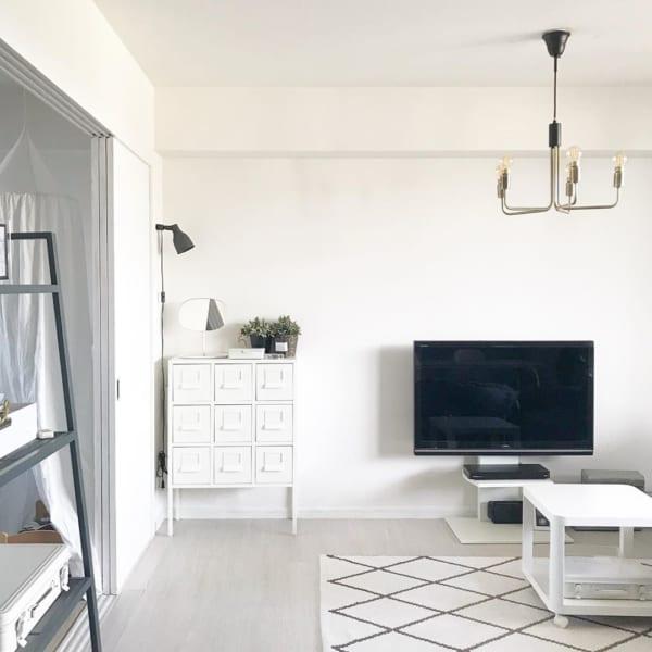 収納性だけでなく、お部屋を素敵に見せるインテリアとしても楽しめる2