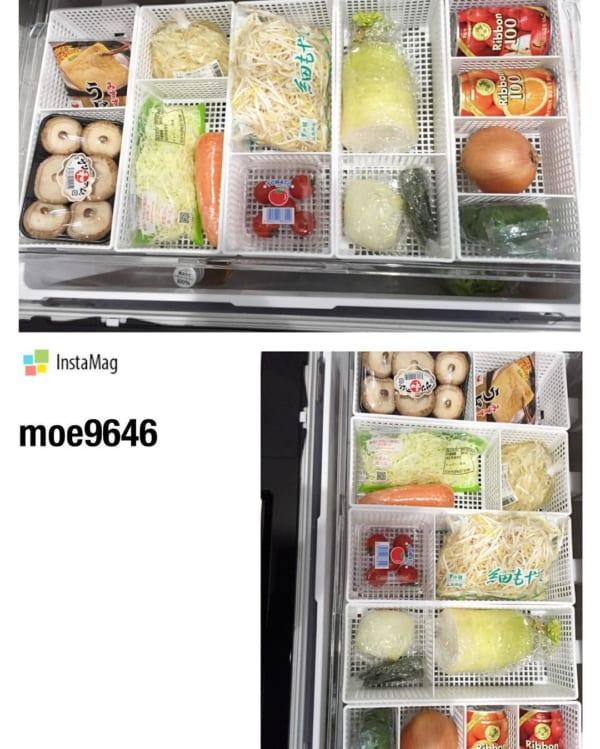 100均の収納ボックスは調理器具収納にも◎