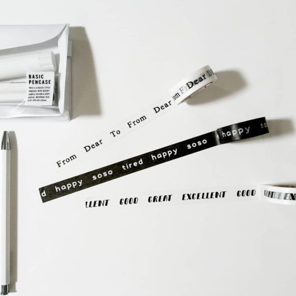 シンプルな英単語が可愛い【ダイソー】
