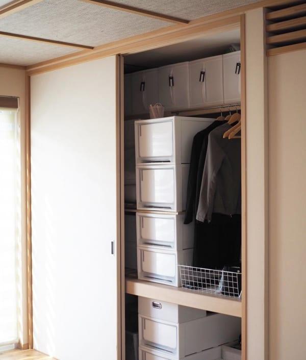 「引き出し収納ボックス」で収納場所を増やす