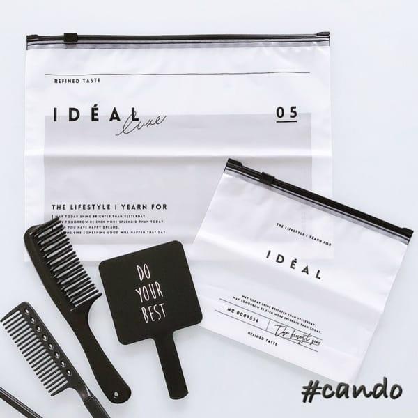 IDEALシリーズの半透明スライダーパック