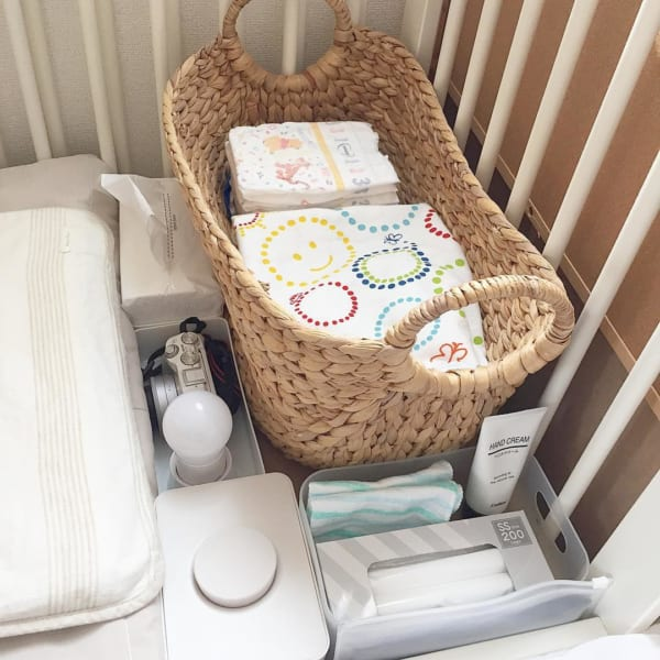 赤ちゃんのオムツ収納3