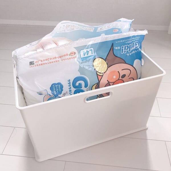 赤ちゃんのオムツ収納6