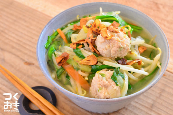 ダイエットに人気レシピ!春雨のエスニックスープ