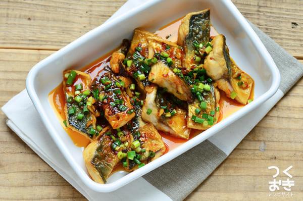 旬の魚サバを使った冬のレシピに!ピリ辛蒲焼き