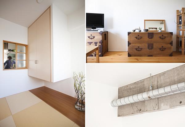 無駄のないシンプルな仕上げに和家具やこだわりの和室をプラス
