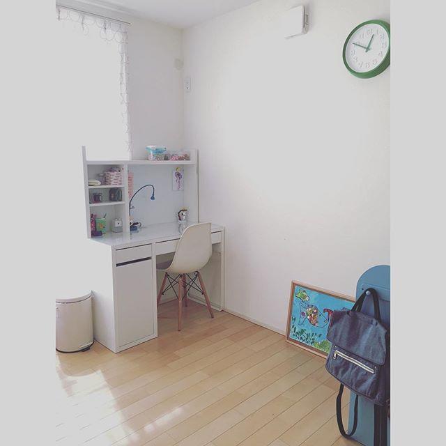 白を基調とした空間が人気の子供部屋