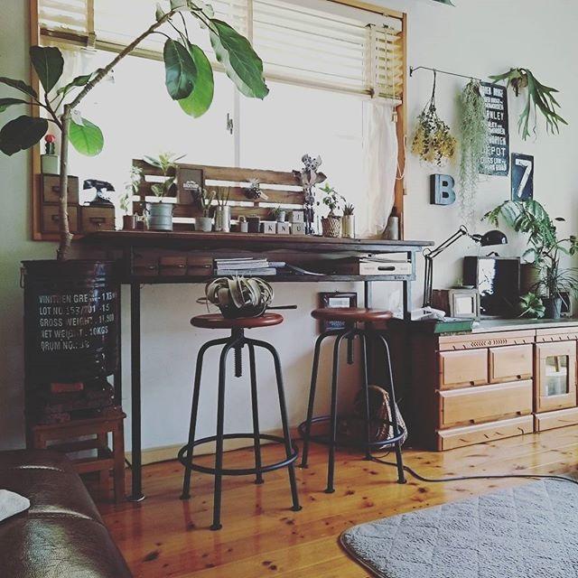 カフェ風 リビングインテリア 家具の選び方2