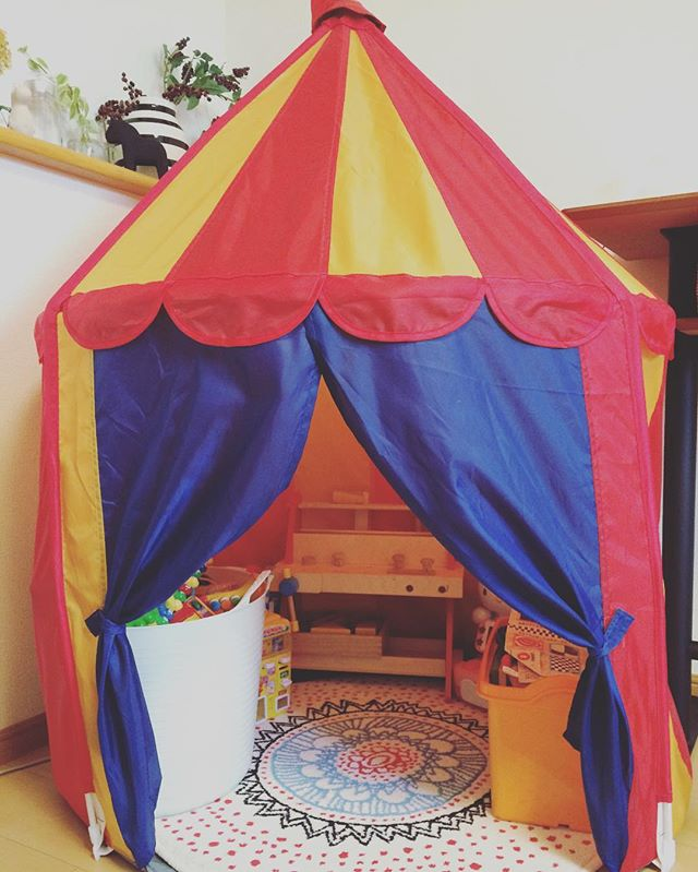 エキゾチックで特別なIKEAの子供部屋