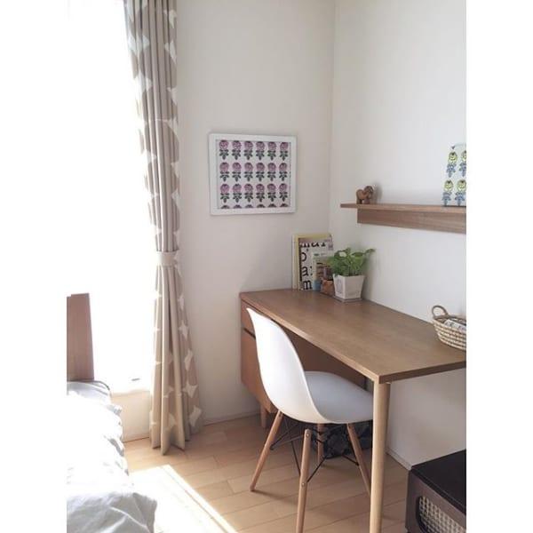 無印「壁に付けられる家具」でウォールシェルフ