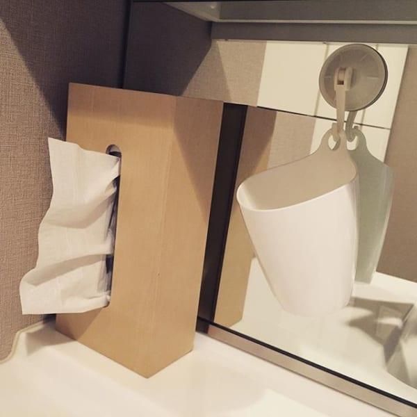 洗面所の綺麗を保ちやすい工夫