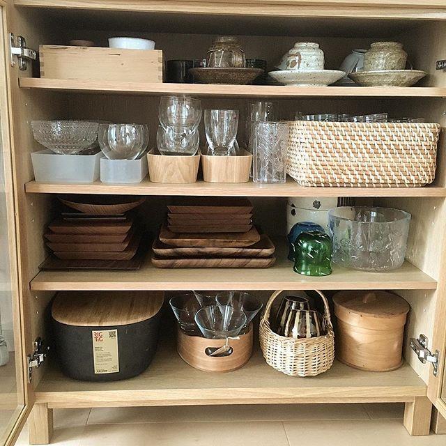 一人暮らし 食器収納 棚5