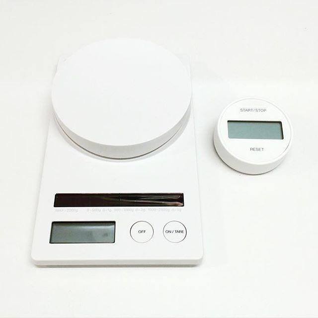 シンプルデザインが評判のデジタルスケール
