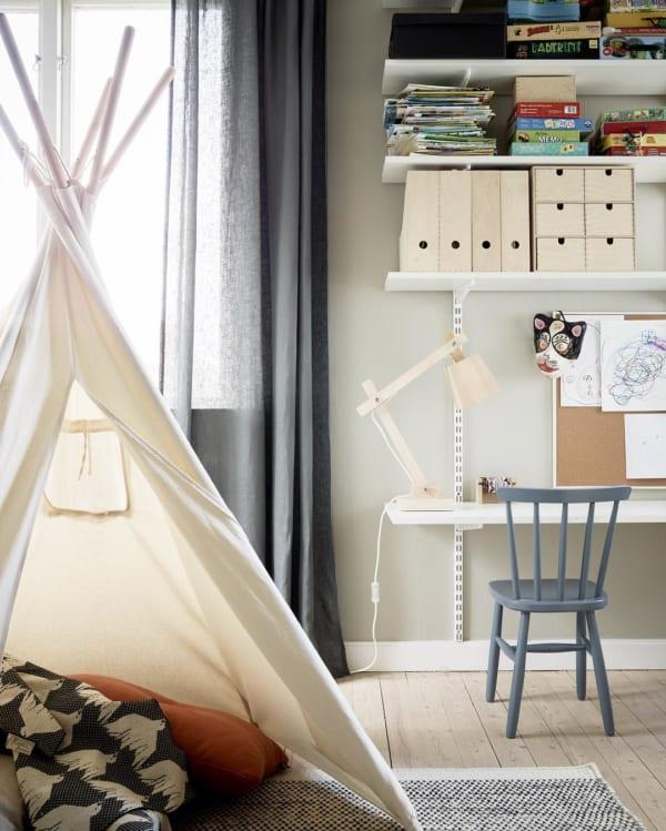 人気のキッズテントが可愛い海外の子供部屋
