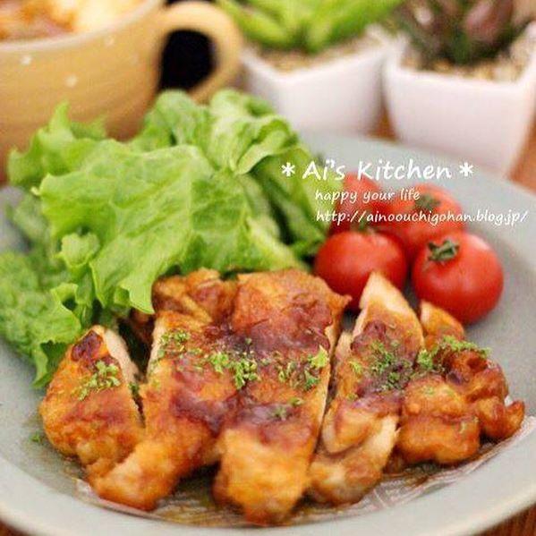 鶏もも肉で簡単消費!バーベキューチキン