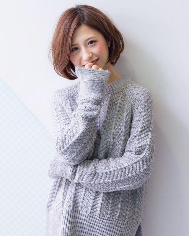 30代女性 髪色 ピンク2