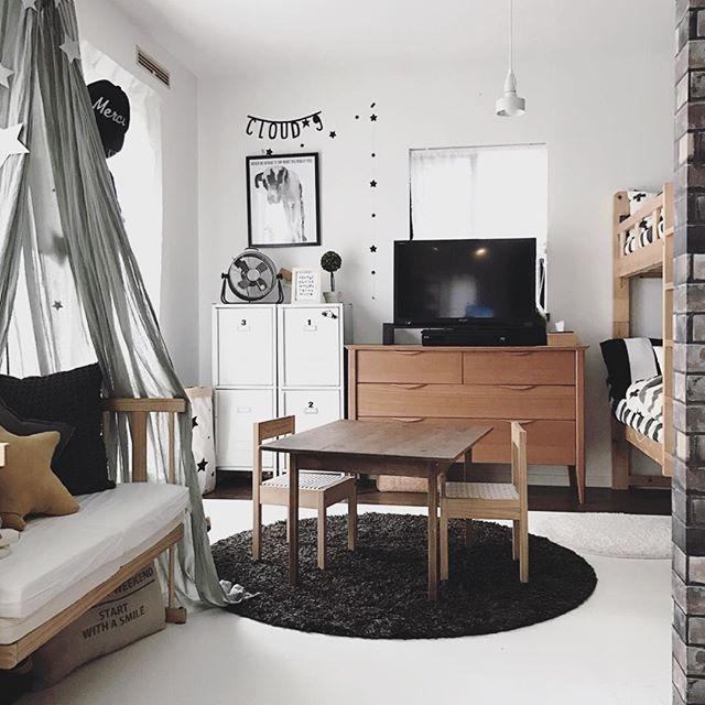 ベッドルームインテリア 子供部屋2