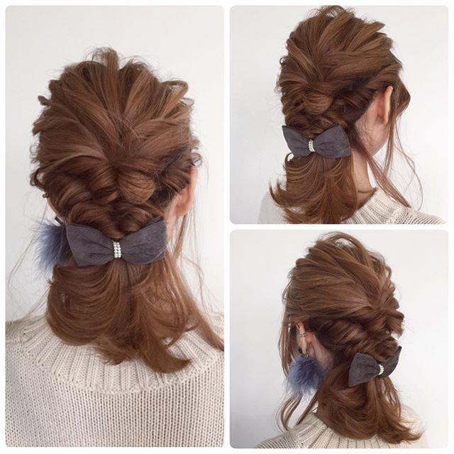 40代女性 髪型 ミディアムヘア5