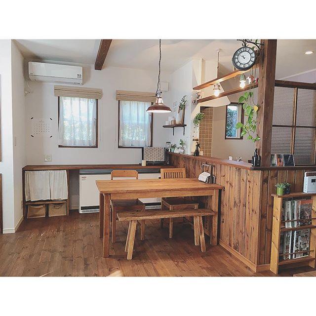 カフェ風 リビングインテリア 家具の選び方4