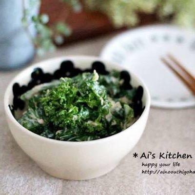 菜の花 人気レシピ 和え物