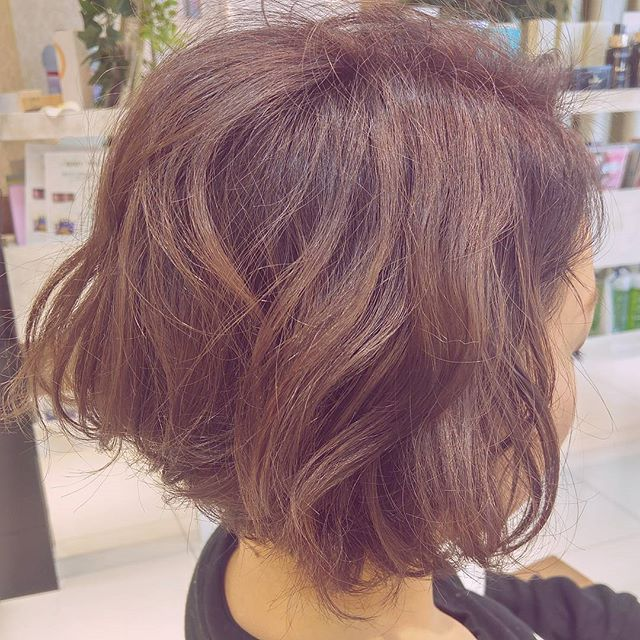 30代女性に似合うヘアカラー16