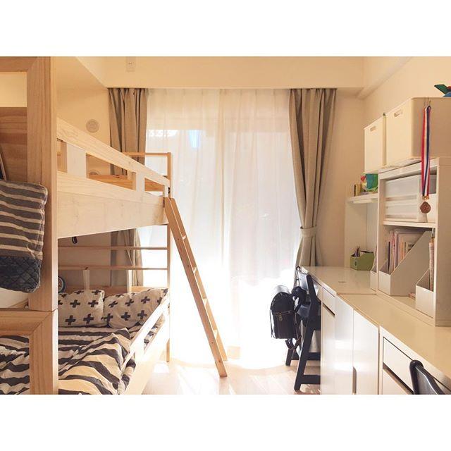 6畳 子供部屋レイアウト 二人部屋10