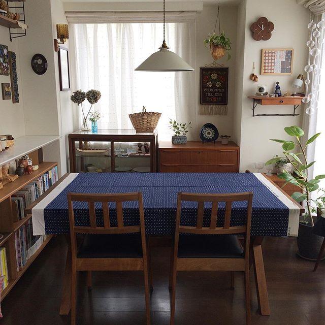 カフェ風 リビングインテリア 家具の選び方9