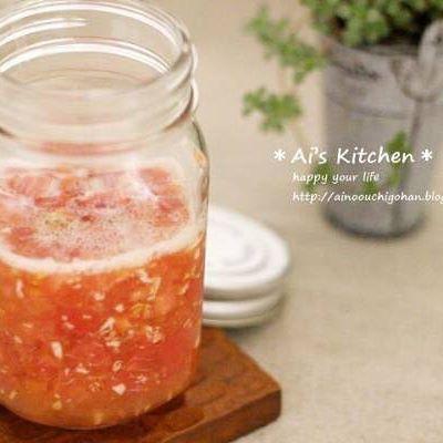 トマト 人気 作り置きレシピ ソース&スープ2