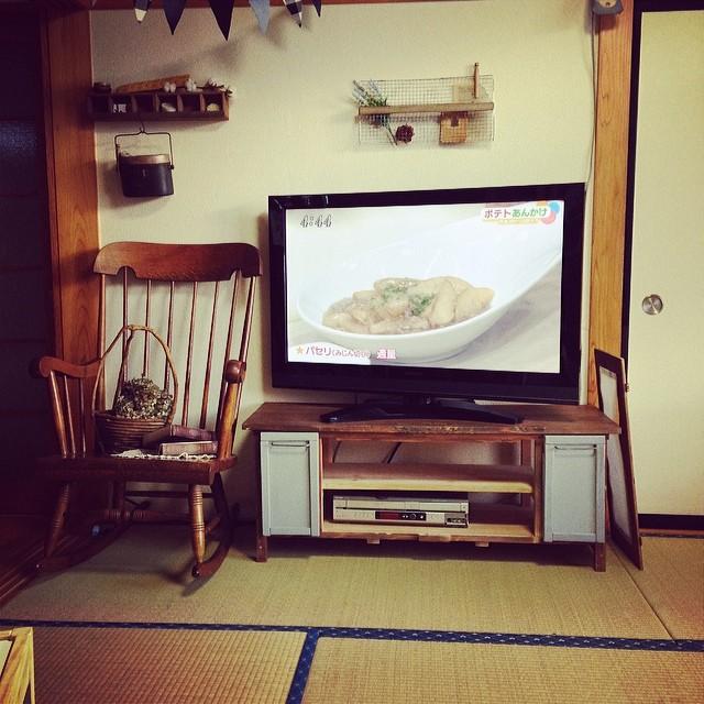 DIY家具を積極的に使って4