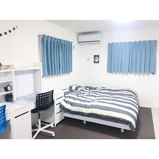 モノトーンインテリア 子供部屋