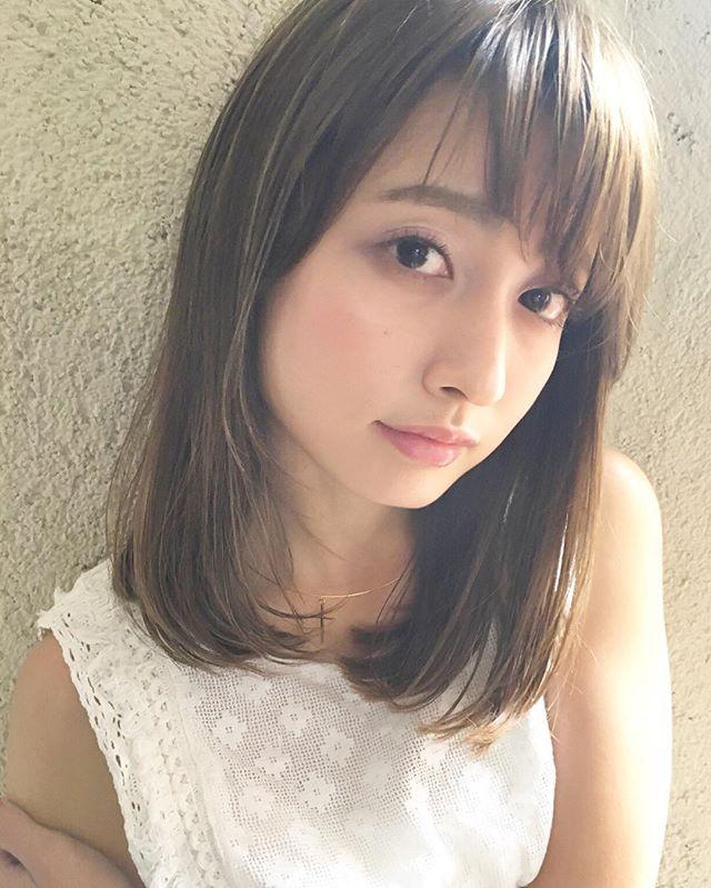 30代女性 髪色 ハイライト3