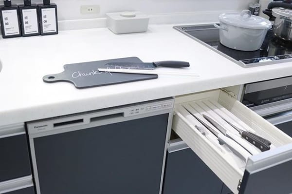 安全かつ衛生的な刃物収納