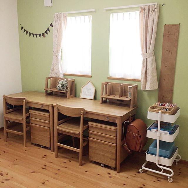 6畳 子供部屋レイアウト 二人部屋12