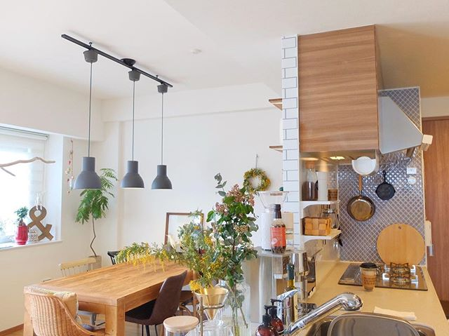 カフェ風 リビングインテリア 家具の選び方5