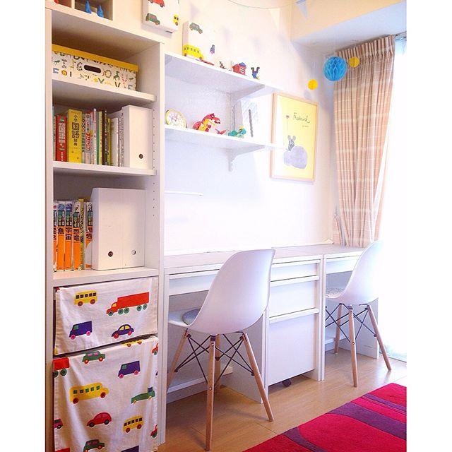 6畳 子供部屋レイアウト 二人部屋9