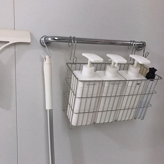 バスルーム 吊るす収納