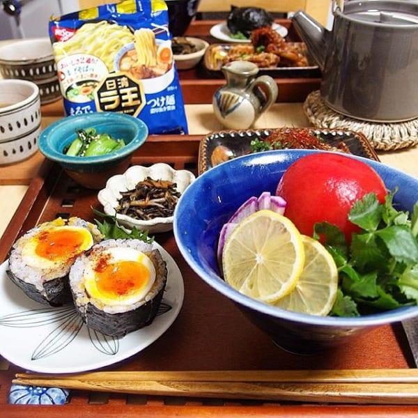 柚子胡椒肉味噌を使ったレシピ!トマトまぜそば