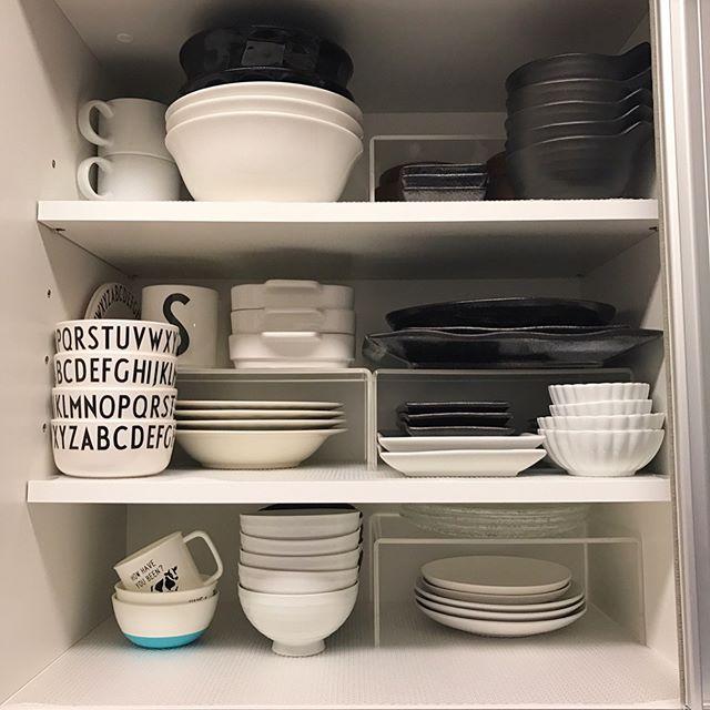 一人暮らし 食器収納 棚6