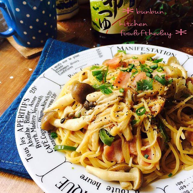 きのこ 人気レシピ ご飯物 麺類3