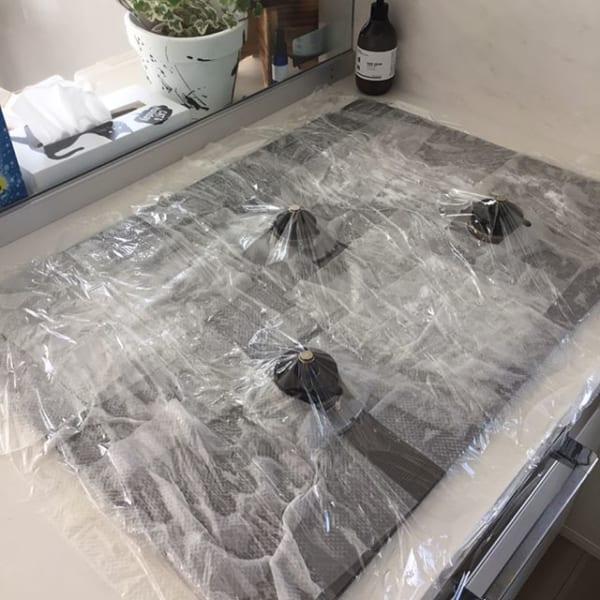 ガスコンロパックの基本の掃除方法