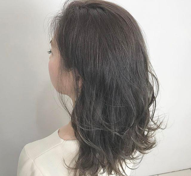 30代女性に似合うヘアカラー14