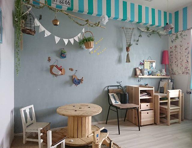お部屋全体で楽しい雰囲気を演出する子供部屋