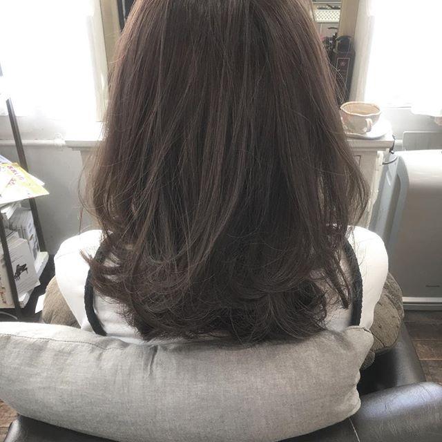 40代女性におすすめの髪色4