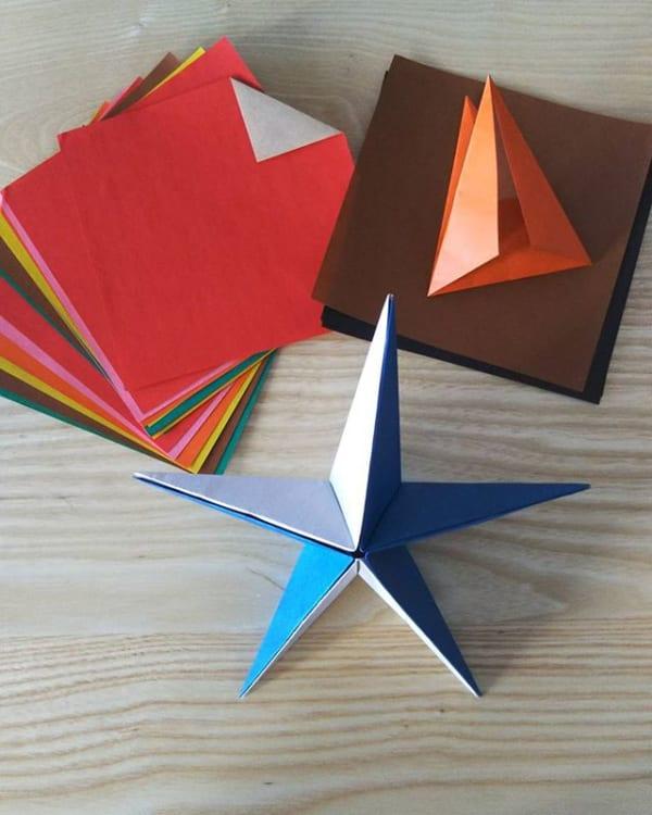 折り紙で手作りするアイディアおもちゃ