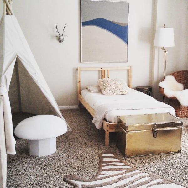 シンプルでおしゃれな海外の子供部屋