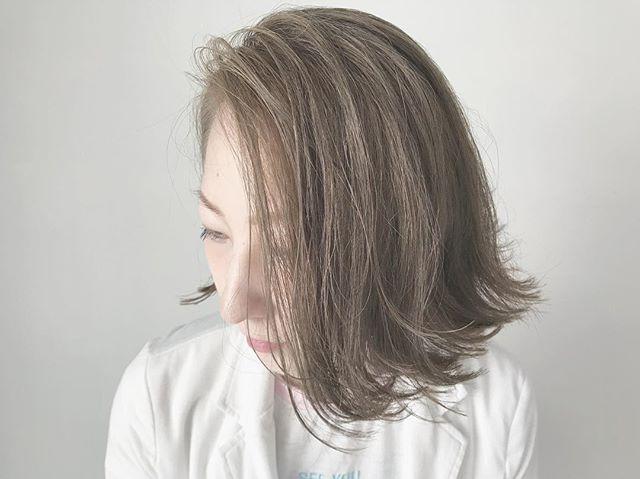 30代女性に似合うヘアカラー12